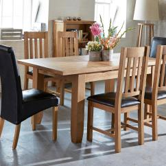 Chairs For Kitchen Table Floor Tile Dining Tables And See All Our Sets Dfs Parker Extending Set Of 4 Slat Back Oak