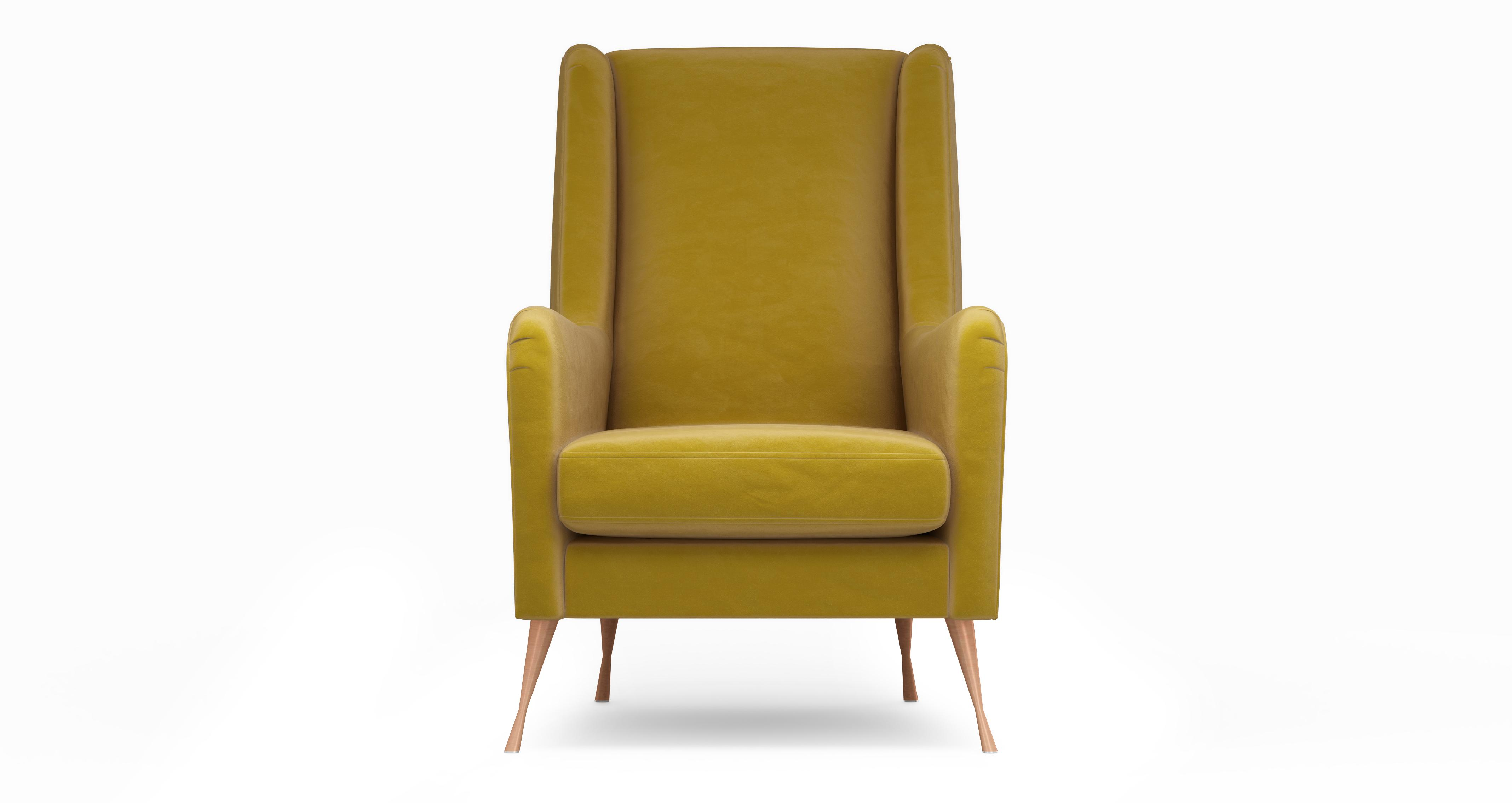 Mustard Accent Chair Peace Accent Chair Velvet Dfs
