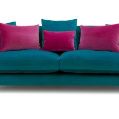 Sofa Classic Build Your Own Sectional Plans Raffles 4 Seater Velvet Dfs