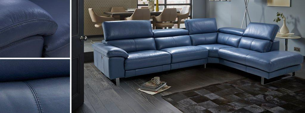 grey leather corner sofa uk old fashion sofas salone option a left arm facing new club dfs