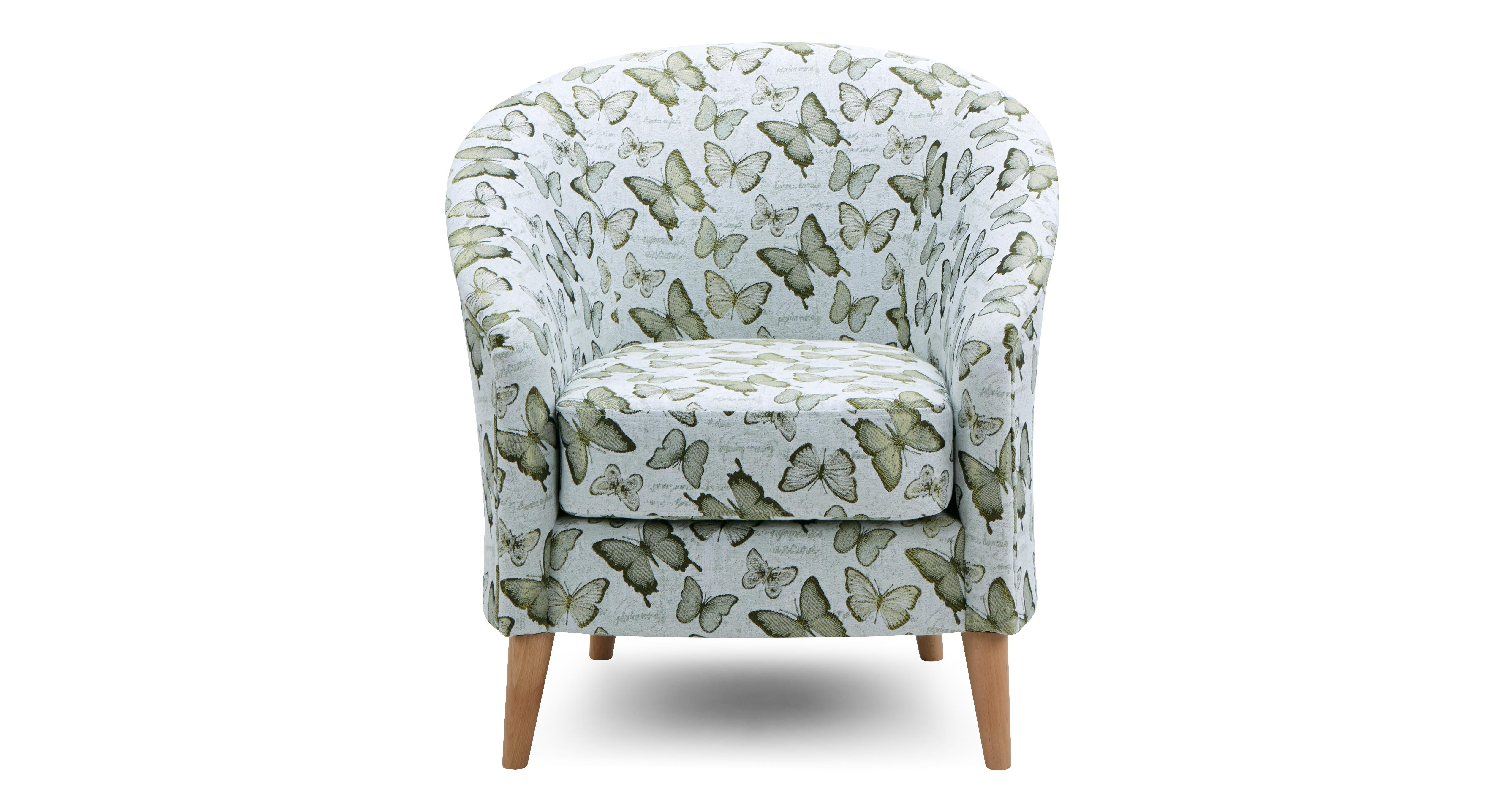 Shaldon Pattern Accent Chair Dfs