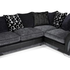Corner Sofa Dfs Martinez Quality Covers Heath Review Taraba Home Shannon Left Hand Facing 3 Seater Pillow Back Bed