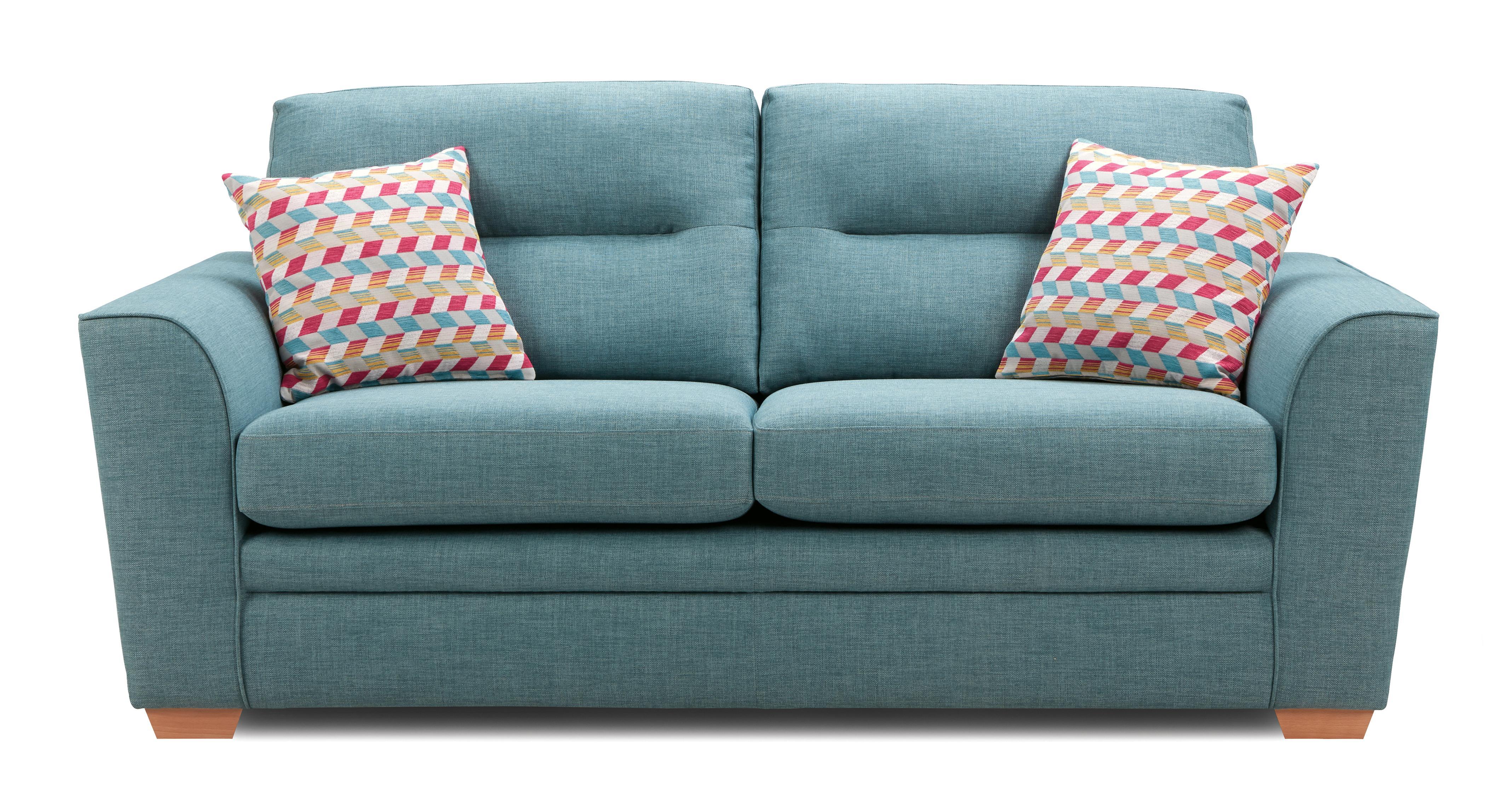 cheap teal sofas dark brown sofa rug soda 3 seater revive dfs