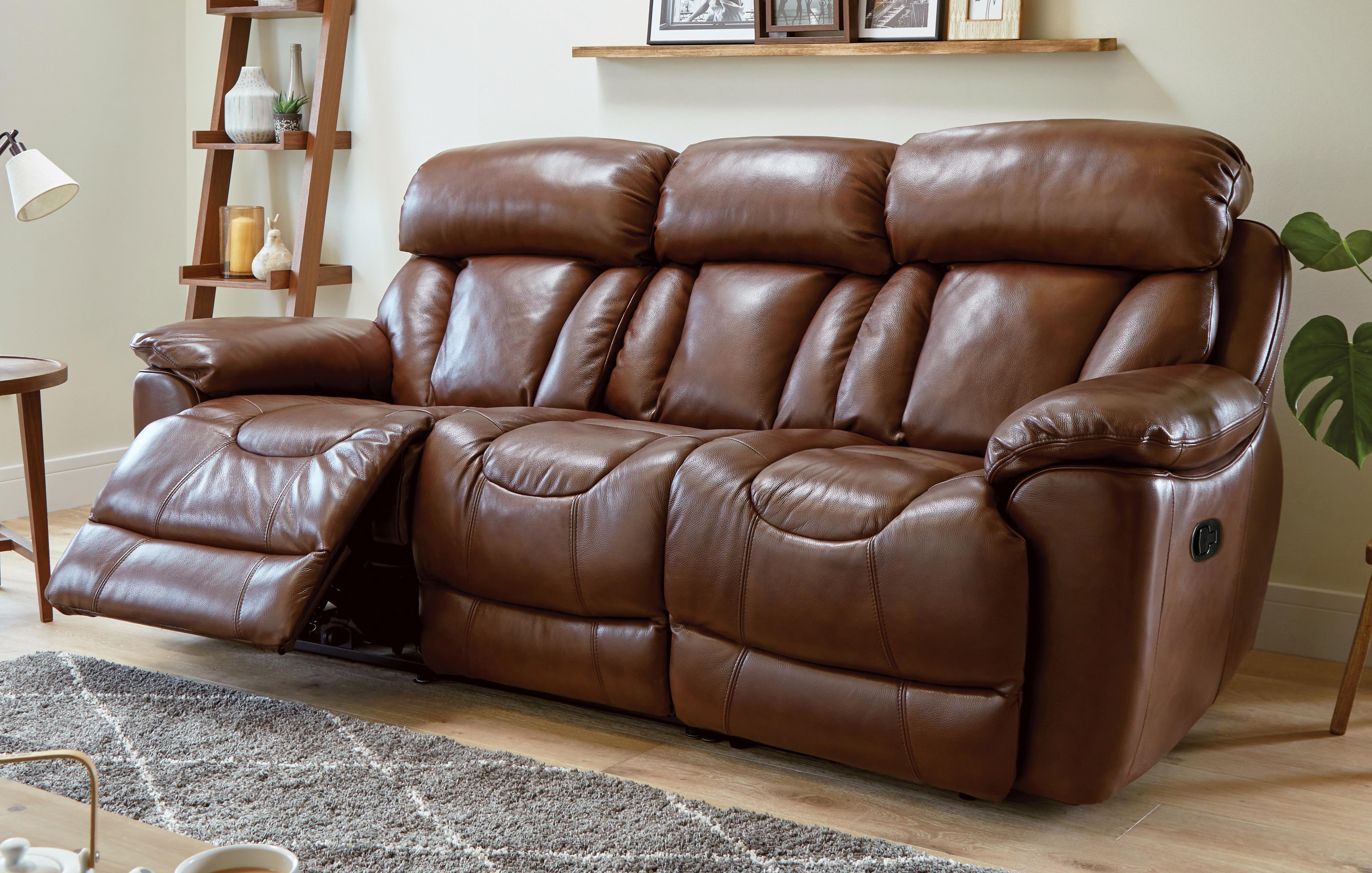 leather sofas dfs roma sofa tacchini recliner in a range of styles winter sale supreme 3 seater manual panama