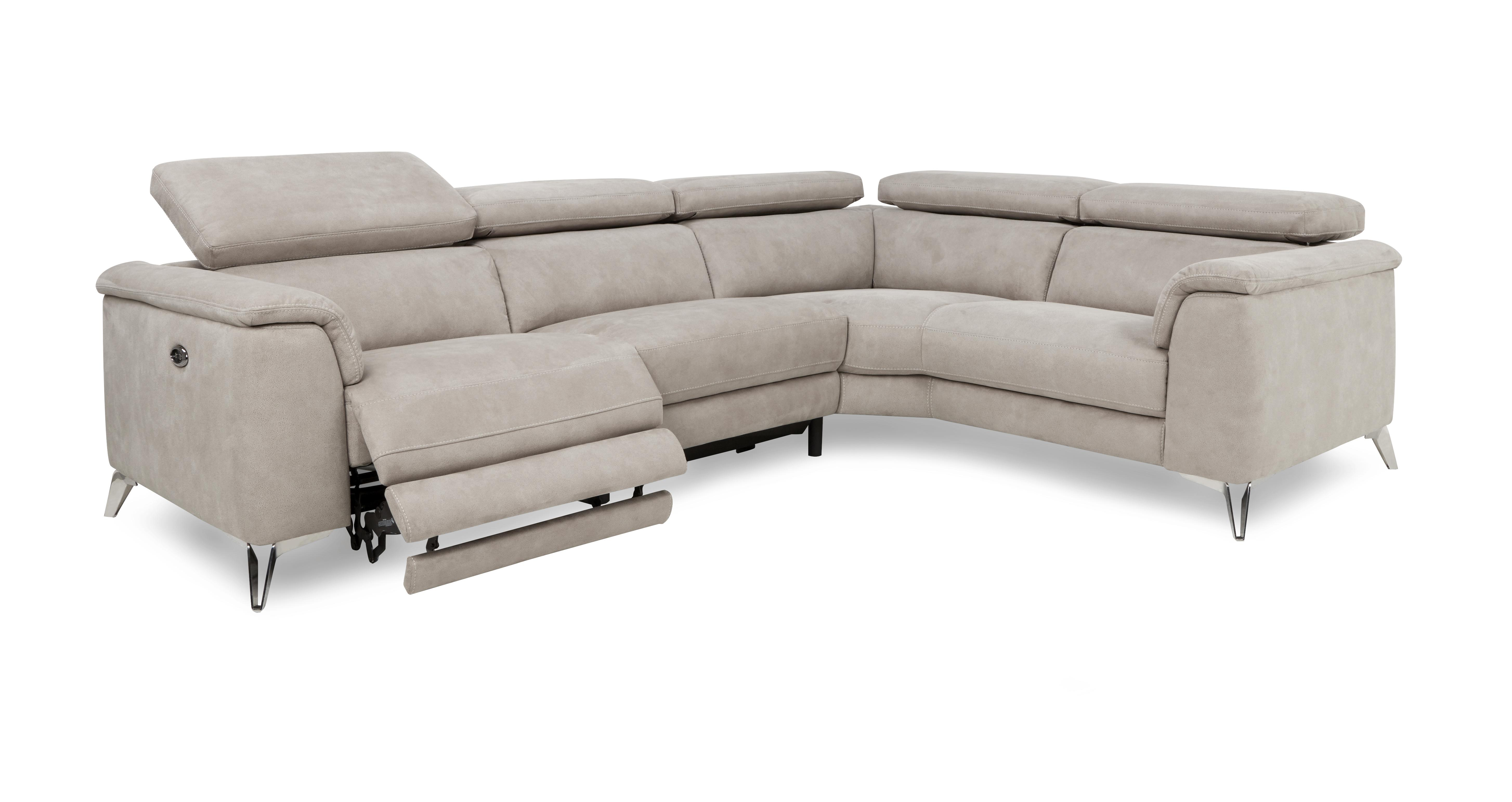 corner sofa bed recliner hanging chair tahiti option c left hand facing 2 seat piece power group
