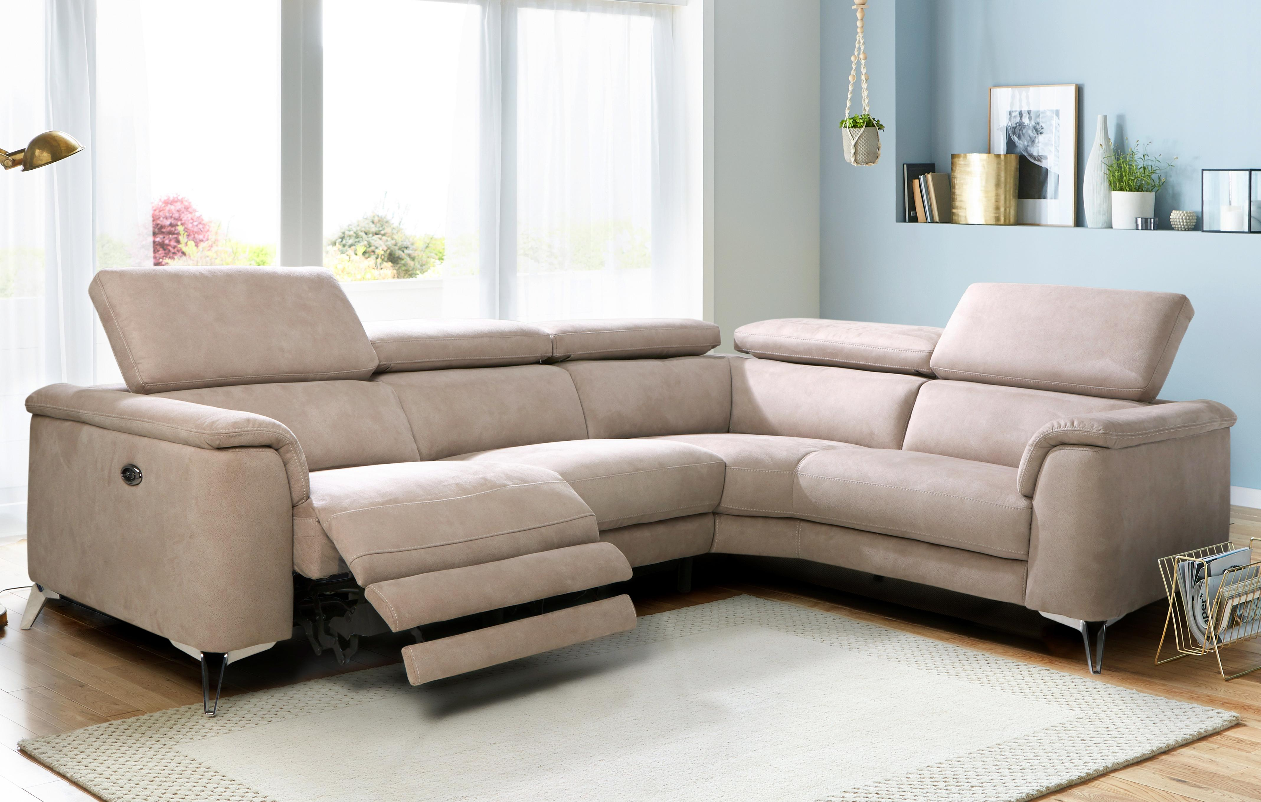 electric recliner leather sofas uk how much is a sofa bed our full range fabric dfs tahiti option c left hand facing 2 seat piece power corner group arizona