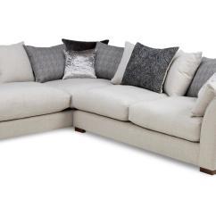 Dfs Corner Sofa Grey Fabric Flexsteel Sofas Tulsa Zahara Right Hand Facing Arm Large