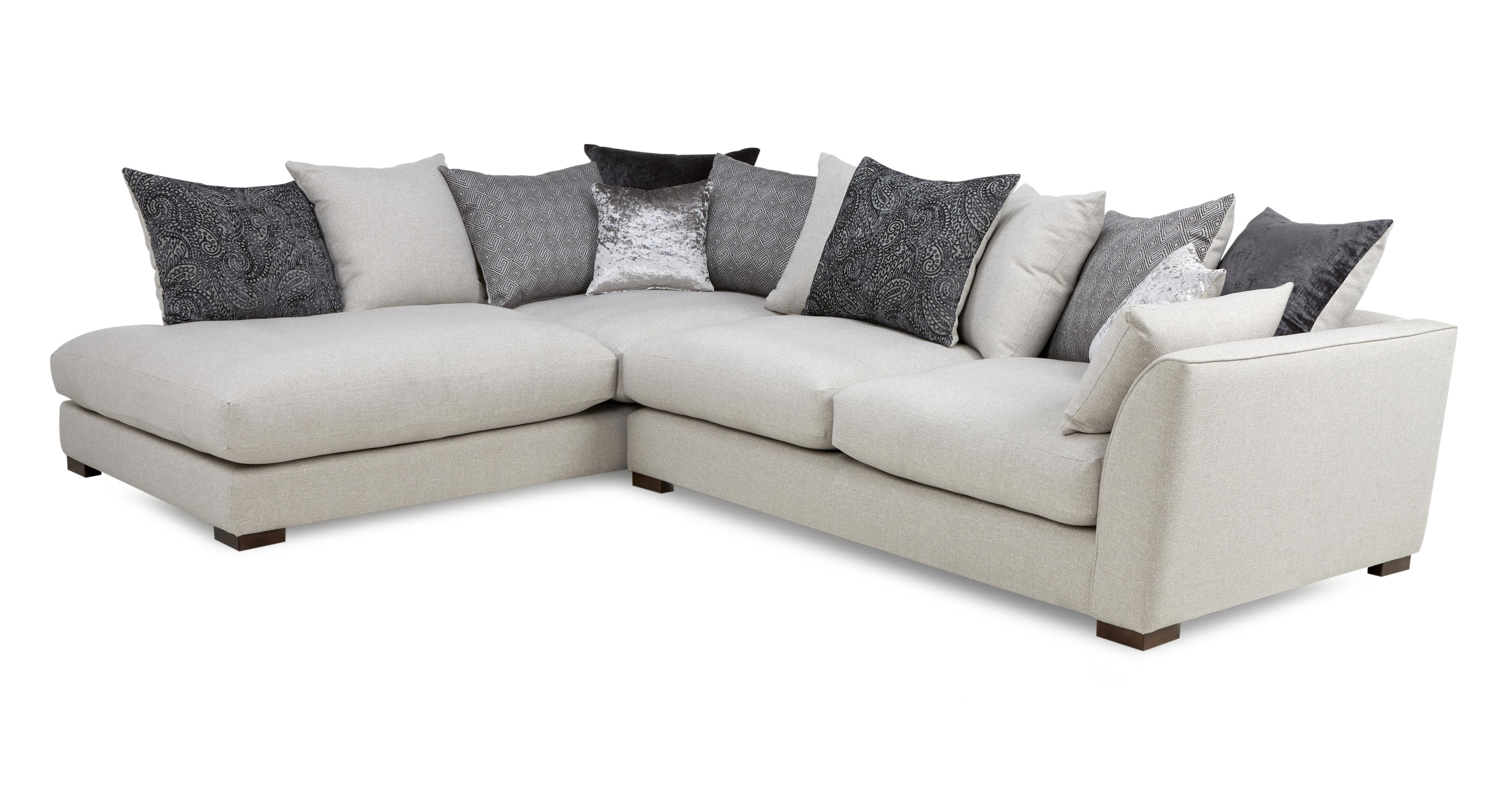 grey leather corner sofa dfs modern minimalis terbaru zahara fabric right hand facing arm large