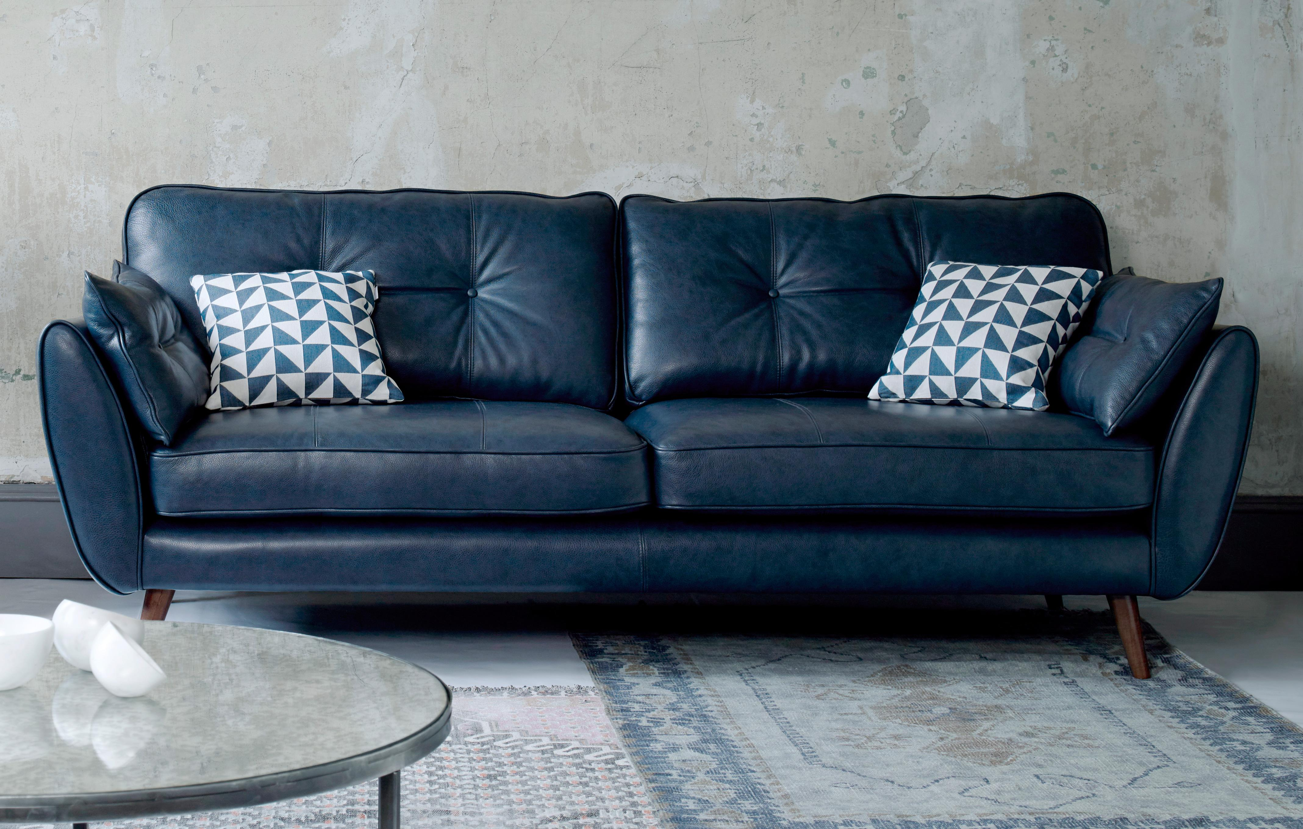 2 seater leather sofas at dfs dark blue velvet sofa living room in a range of styles |