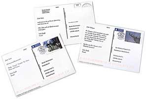 Kartengrüße mit eigener Briefmarke verschicken