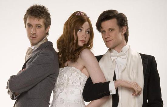 Rory  Amy Pond The Wedding Photos
