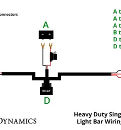 heavy duty single output light bar wiring harness diode dynamics stl led light bar wiring diagrams [ 1500 x 1000 Pixel ]