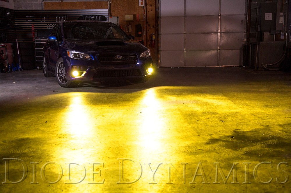 medium resolution of 2017 subaru wrx sti diode dynamics fog light leds yellow installed