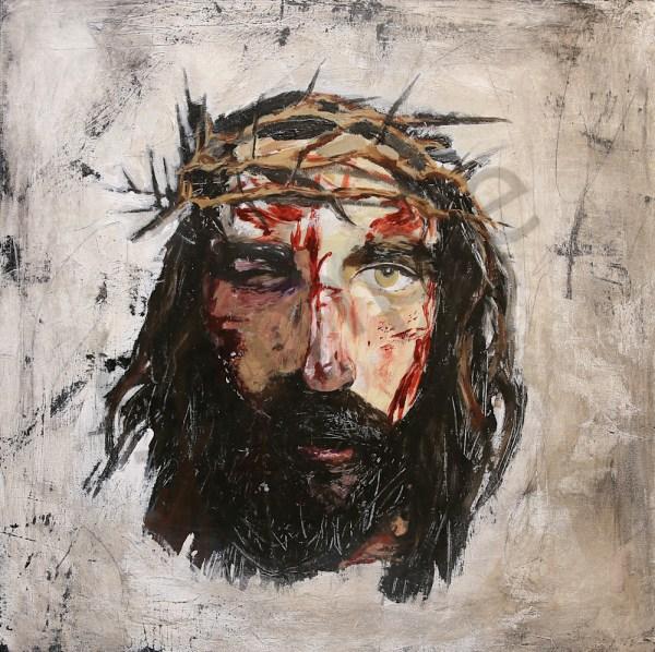 Contemporary Paintings Of Jesus Art Print Christian Painting