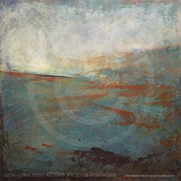 Titian Tides - Ocean Wall Art Canvas