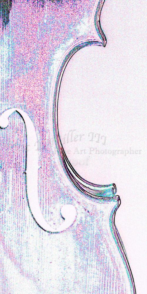 Unusual Wall Art Violin Watercolor 6037