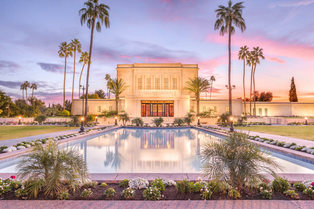 Mesa Arizona Temple  Reflection Pool