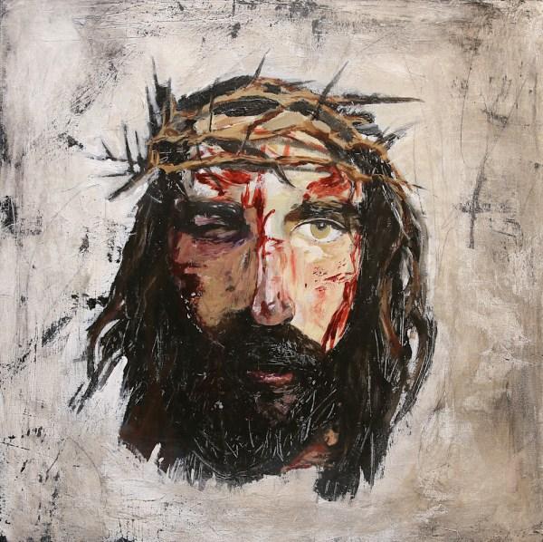 Modern Christian Art Jesus Christ Painting