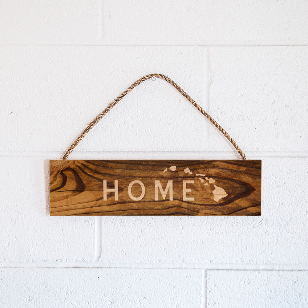 Rope Sign  Home