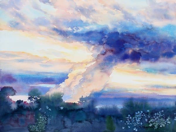 watercolor landscapes watercolor art