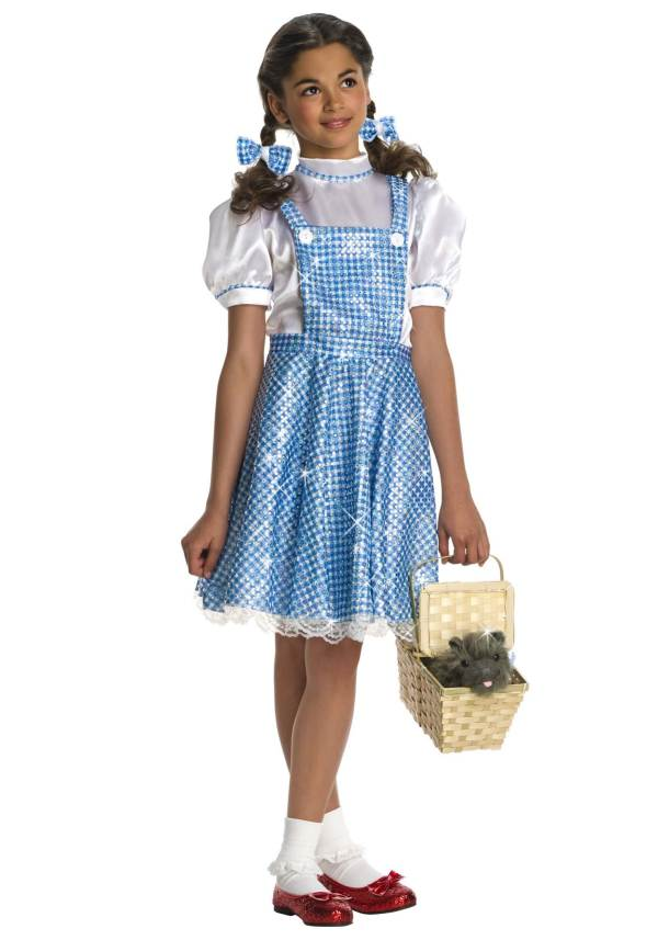 Sequin Dorothy Toddler Costume - Wizard Of Oz Costumes