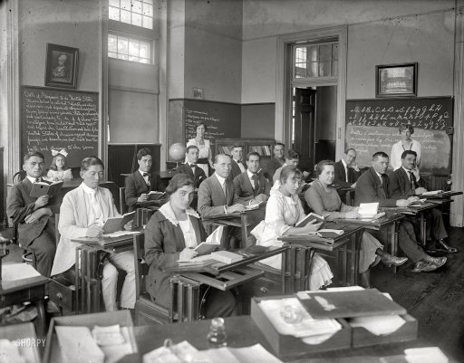 Image result for 1950s college classroom
