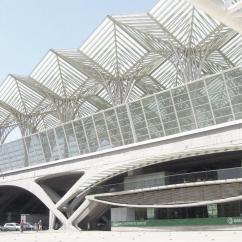 Wooden Slat Chairs Pilot Ready Room Chair Santiago Calatrava, Lucia Giannecchini · Oriente Station Divisare