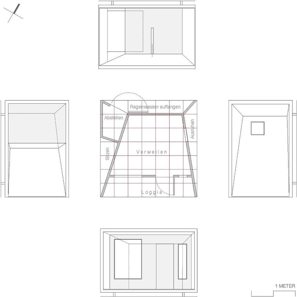 Sieveke Architekten, Florian Holzherr · Lauben Fuer Die