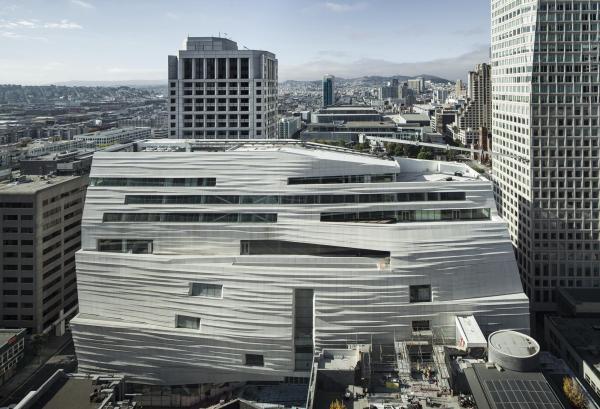 New Modern Art Museum San Francisco