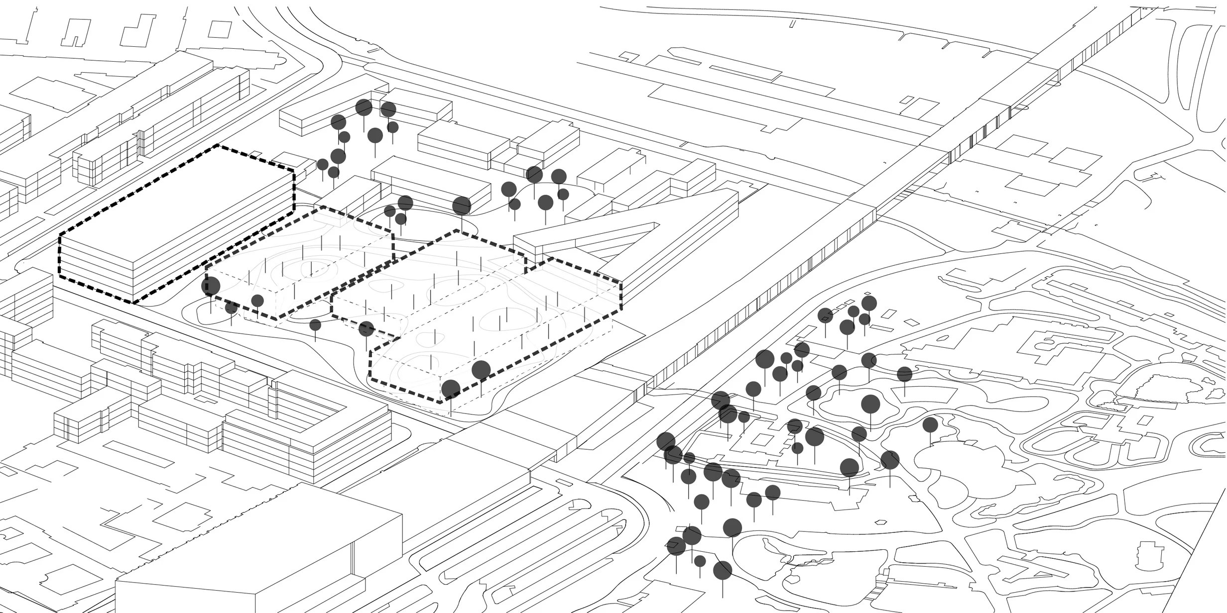 Nas Architecture First Prize For The Berlin Natural