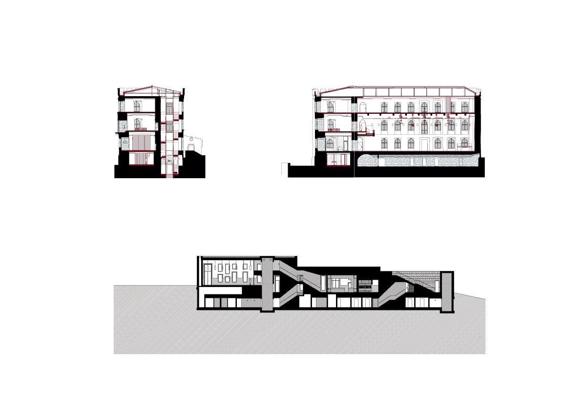 Max Dudler Architekt, Stefan Müller · Hambach Castle