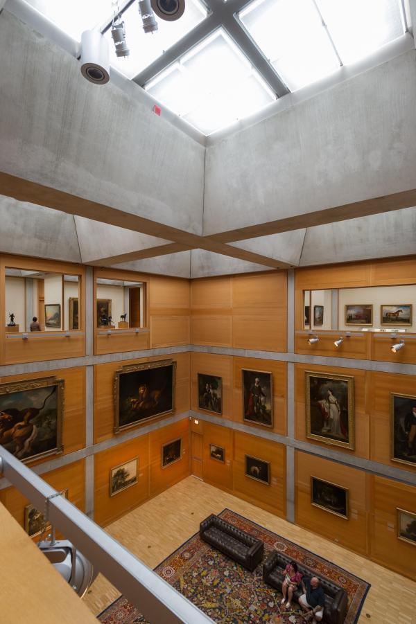 Louis . Kahn Xavier De Jaurguiberry Yale Center British Art Divisare