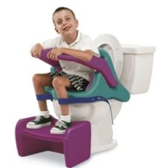 Handicap Potty Chair Swivel Bucket Supportive Toilet Seats For Disabled Children & Young People - Living Made Easy