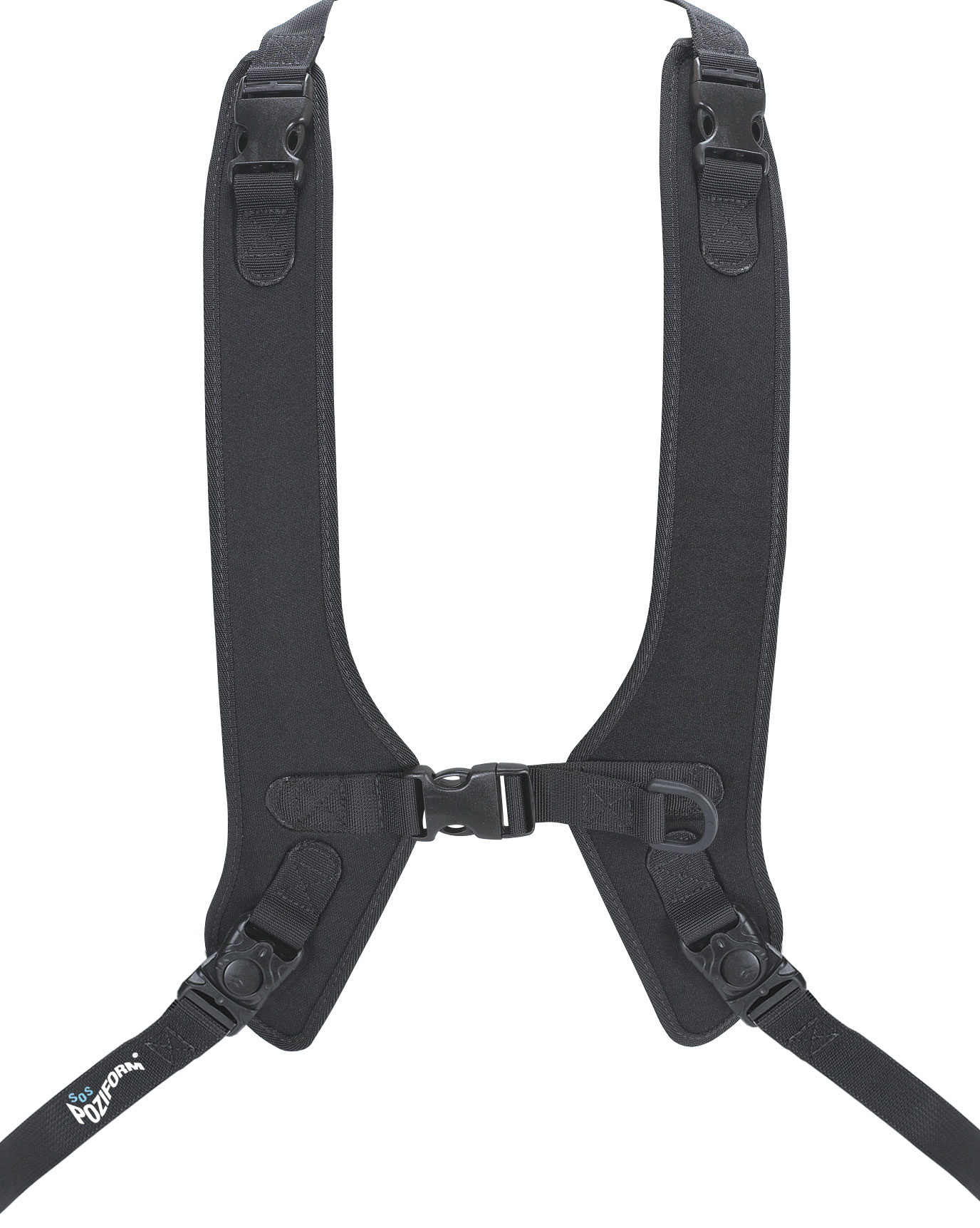 wheelchair harness sling back patio chairs target poziform standard shoulder living made easy