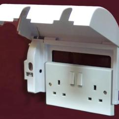 Key West Chairs Wicker Dining Indoor Uk Lockable Plug Cover For Double Sockets - Living Made Easy
