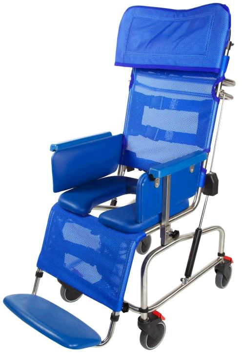 Tiltinspace Stainless Steel Paediatric Shower Chair