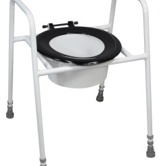 Handicap Potty Chair Home Theater Bean Bag Chairs Solo Skandia Raised Toilet Seat And Frame Living Made Easy