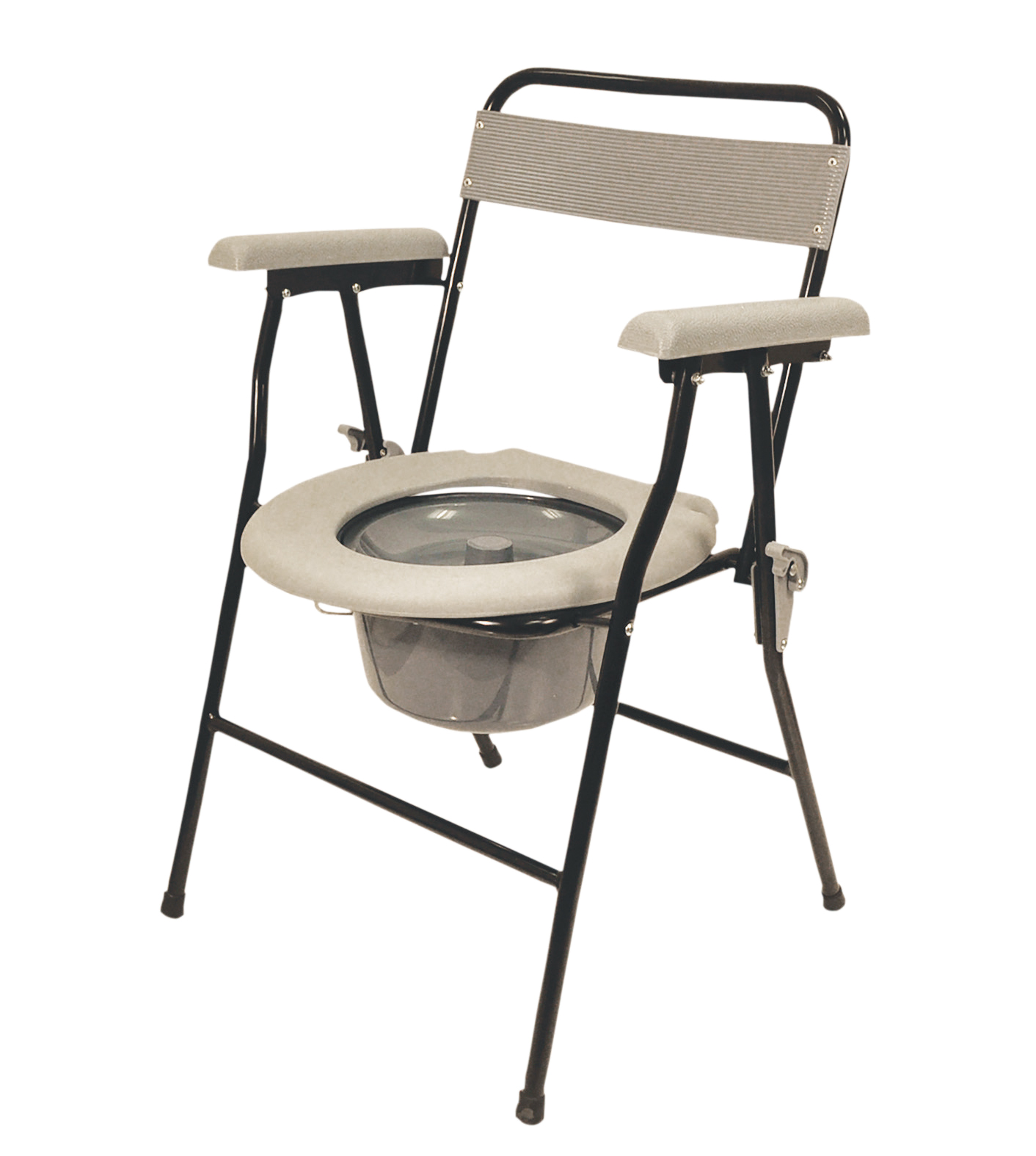 Folding Commode Chair Aidapt Folding Commode Living Made Easy