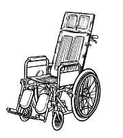 Comfort wheelchairs including multi-positioning and reclining