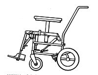 Tilt-in-space wheelchairs and chassis
