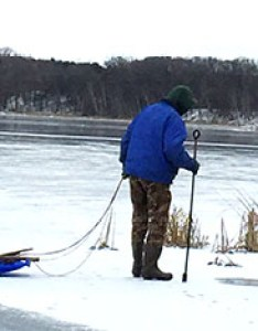Checking ice thickness also safety general guidelines minnesota dnr mn rh dnrate