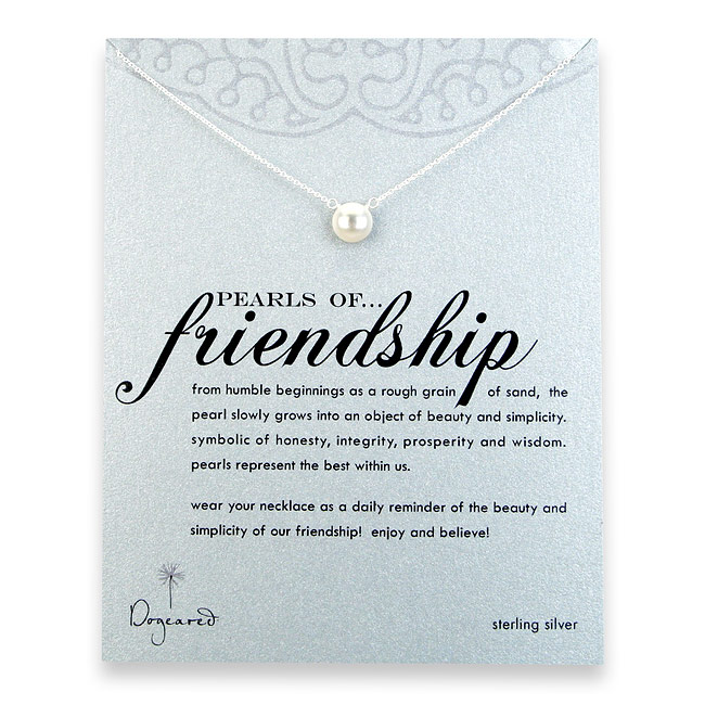 Pearls of Friendship are PERFECT for your best gal pals