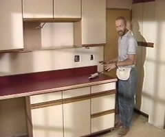 Can You Refinish Laminate Kitchen Cabinets