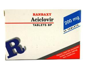 Comprimés d'Aciclovir | Herpès | Commander en ligne