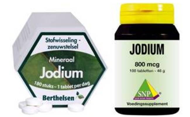 Jodpiller Jodtabletter
