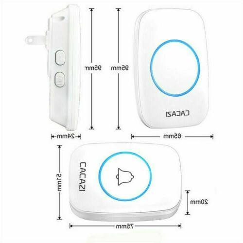 Wireless DoorBell Smart Waterproof 300M Door Bell Ring