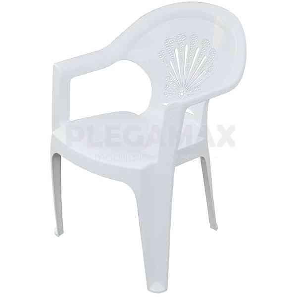A la venta sillas apilables de plastico modelo Palermo
