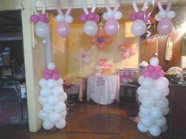 Decoracin de globos para Baby Shower Lima Lima  Doplim