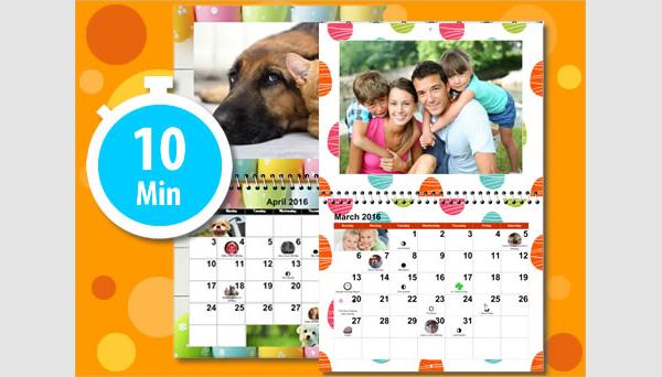 create a photo calendar