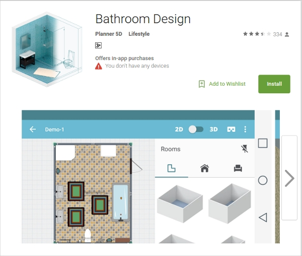 Bathroom Design Tool Mac
